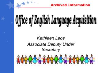 Kathleen Leos Associate Deputy Under Secretary