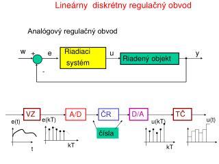 Lineárny diskrétny regulačný obvod