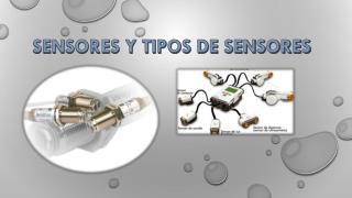 SENSORES Y TIPOS DE SENSORES