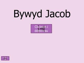 Bywyd  Jacob