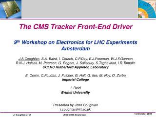 CMS Tracker FED  FEDv1