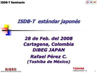 ISDB-T  est�ndar japon�s