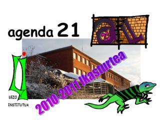 2010-2011 Ikasturtea