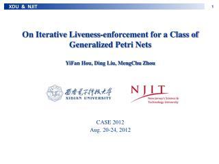 CASE 2012 Aug. 20 -24 , 2012