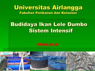 Universitas Airlangga Fakultas Perikanan dan Kelautan