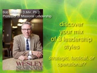discover  your mix  of 3 leadership styles strategic, tactical, or operational?