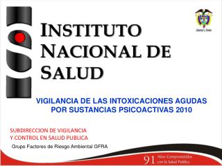 SUBDIRECCION DE VIGILANCIA  Y CONTROL EN SALUD PUBLICA