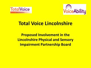 Total Voice Lincolnshire
