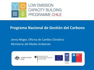 Programa  Nacional de Gesti�n del Carbono