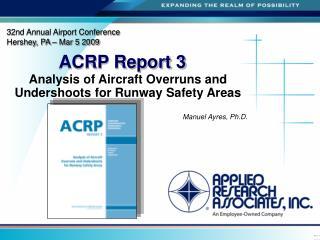 ACRP Report 3