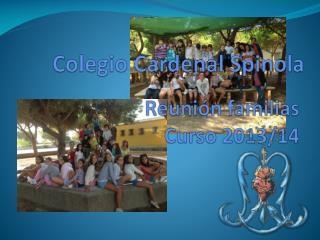 Reunión familias Curso 2013/14