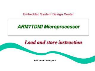 ARM7TDMI Microprocessor