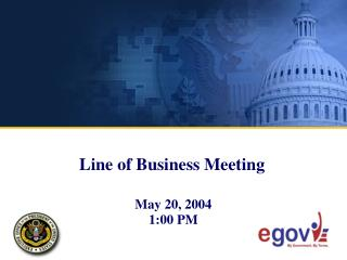 Line of Business Meeting