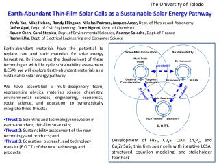 Earth-Abundant Thin-Film Solar Cells as a Sustainable Solar Energy Pathway