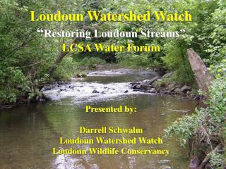 Loudoun Watershed Watch