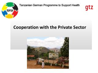 Cooperation with the Private Sector