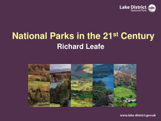 National Parks in the 21 st  Century