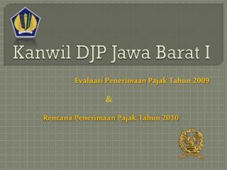 Kanwil  DJP  Jawa  Barat I