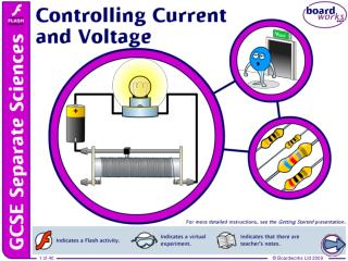 Controlling current and voltage