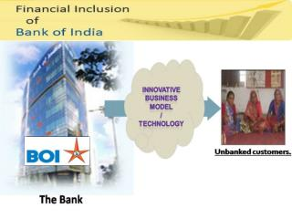 Financial Inclusion: Bankers perspective