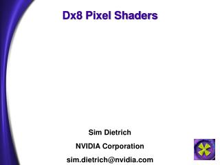 Dx8 Pixel Shaders