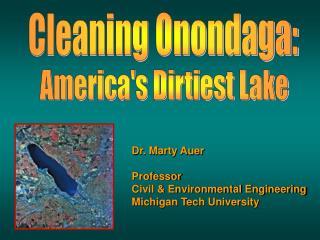 Cleaning Onondaga: