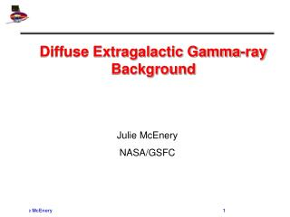 Diffuse Extragalactic Gamma-ray Background