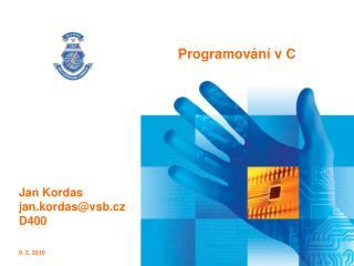 Programování v C