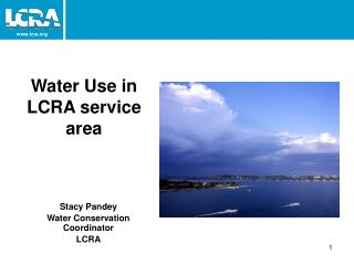 Water Use in LCRA service area