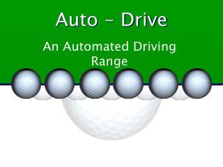 Auto - Drive