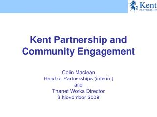 Kent Partnership and Community Engagement