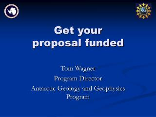 Get your proposal funded