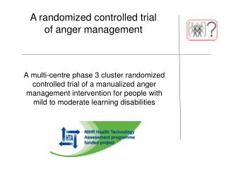 A randomized controlled trial of anger management