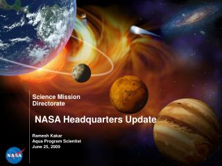 NASA Headquarters Update