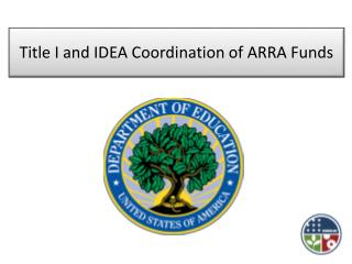 Title I and IDEA Coordination of ARRA Funds