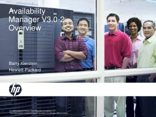Availability Manager V3.0-2 Overview