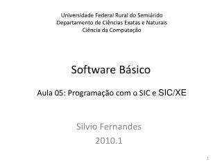 Software B�sico
