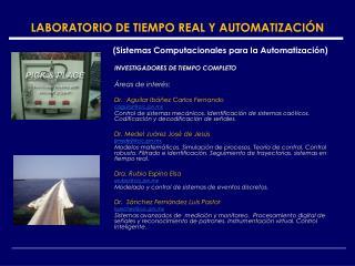 LABORATORIO DE TIEMPO REAL Y AUTOMATIZACIÓN