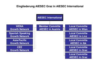 Eingliederung AIESEC Graz in AIESEC International