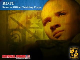 ROTC Reserve Officer Training Corps