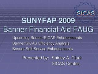 SUNYFAP 2009  Banner Financial Aid FAUG