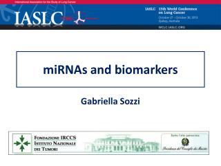 miRNAs and biomarkers