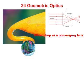 24 Geometric Optics