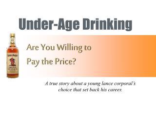 Under-Age Drinking