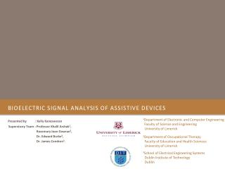 Bioelectric signal analysis of assistive devices