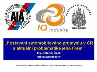 "KONFERENCE   "" IQ Industry"""
