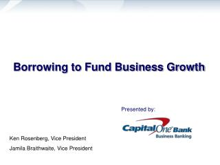 Borrowing to Fund Business Growth