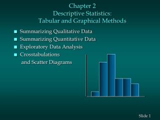 DESCRIPTIVE STATISTICS I: TABULAR AND GRAPHICAL METHODS
