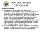 IAOP 2010 in Seoul CPC Case 1