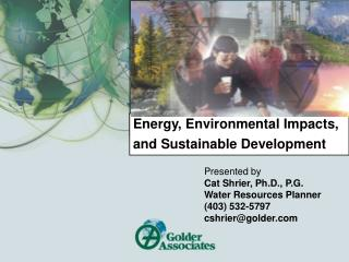 Energy, Environmental Impacts, and Sustainable Development